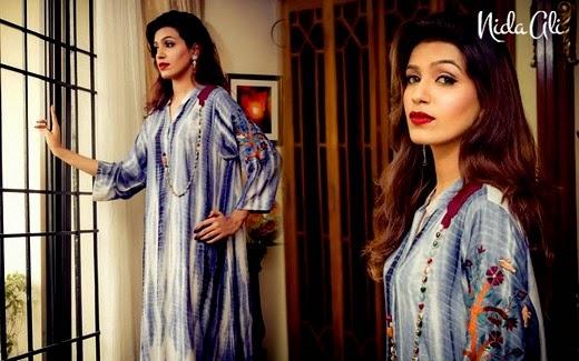 Nida Ali Rangrez Collection 2014