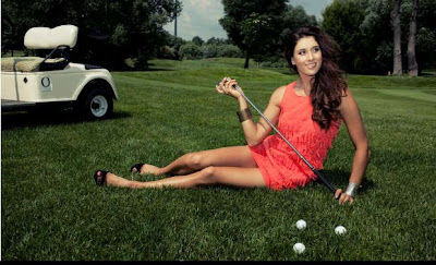 Maria Verchenova; Sizzling hot women golfers