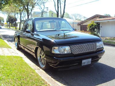 Ranger V8 rebaixada