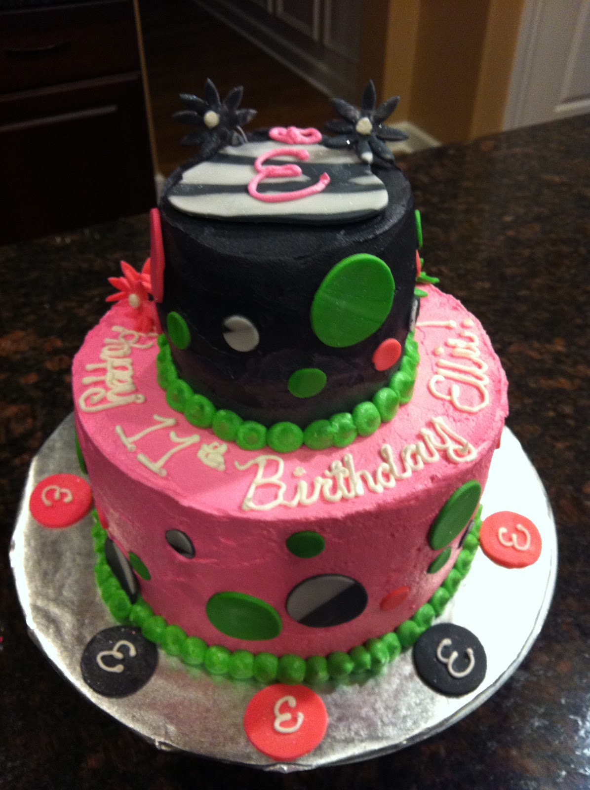 7 Year Old Birthday Cakes http://jlovestobake.blogspot.com/2011/11/birthday-cake-11-year-old-girl.html