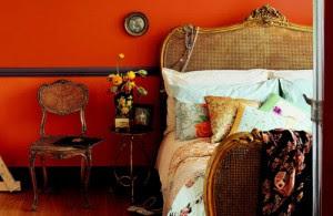 decoración dormitorio colorido
