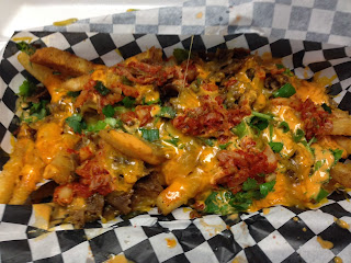 Foreign Policy Truck - Korean Fries with BBQ beef and Kimchi