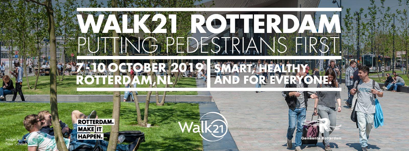 INVITATI ALLA WALK21 - ROTTERDAM