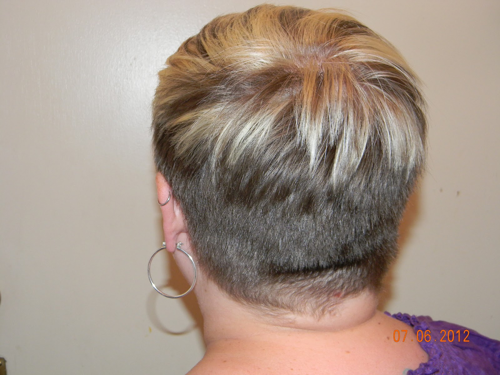 Pixie Cut with Buzzed Nape