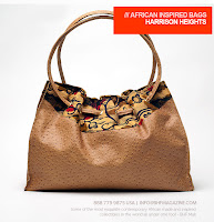 Harrison Heights African print leather bag - BHF Shopping mall - iloveankara.blogspot.co.uk