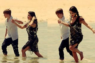 Justin bieber and girlfriend
