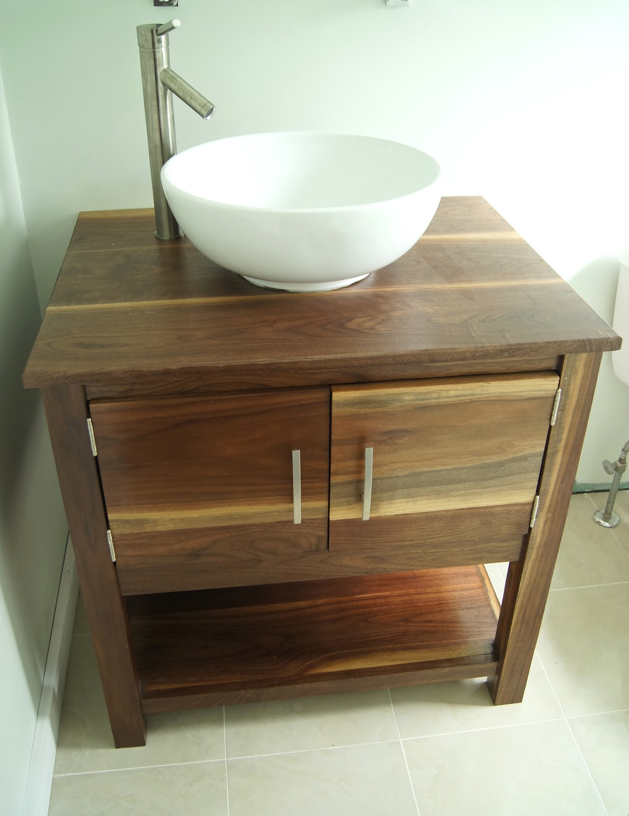 Wightman specialty woods diy bathroom vanity for Diy bathroom sink cabinet