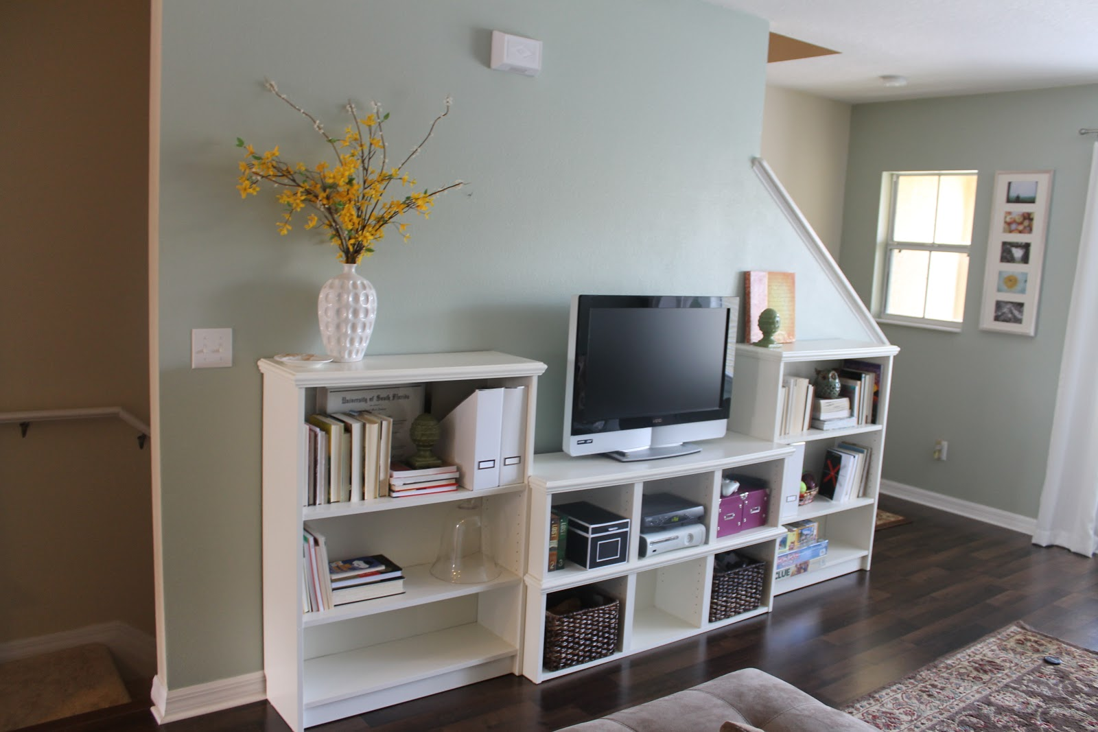 the march house entertainment center ikea hack
