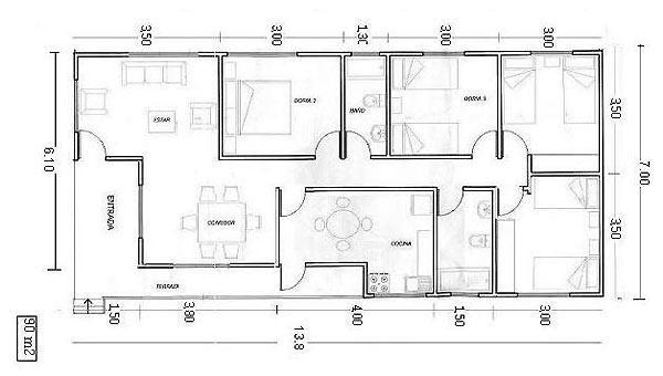 Planos de casas modelos y dise os de casas programa para for Programa para planos de viviendas