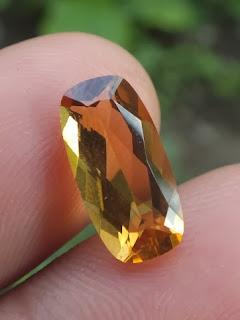 natural citrine quartz