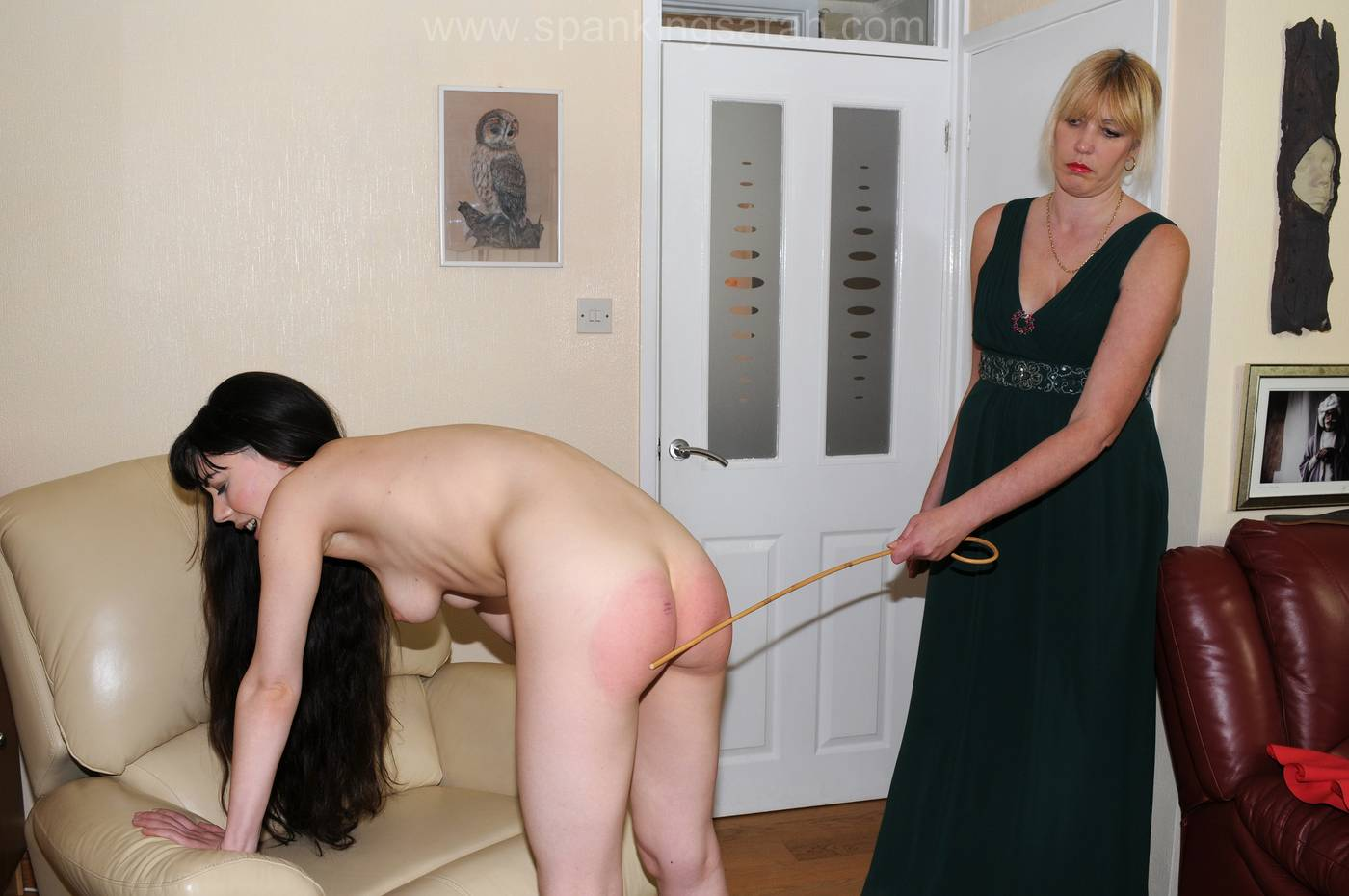 Have now man cane spank