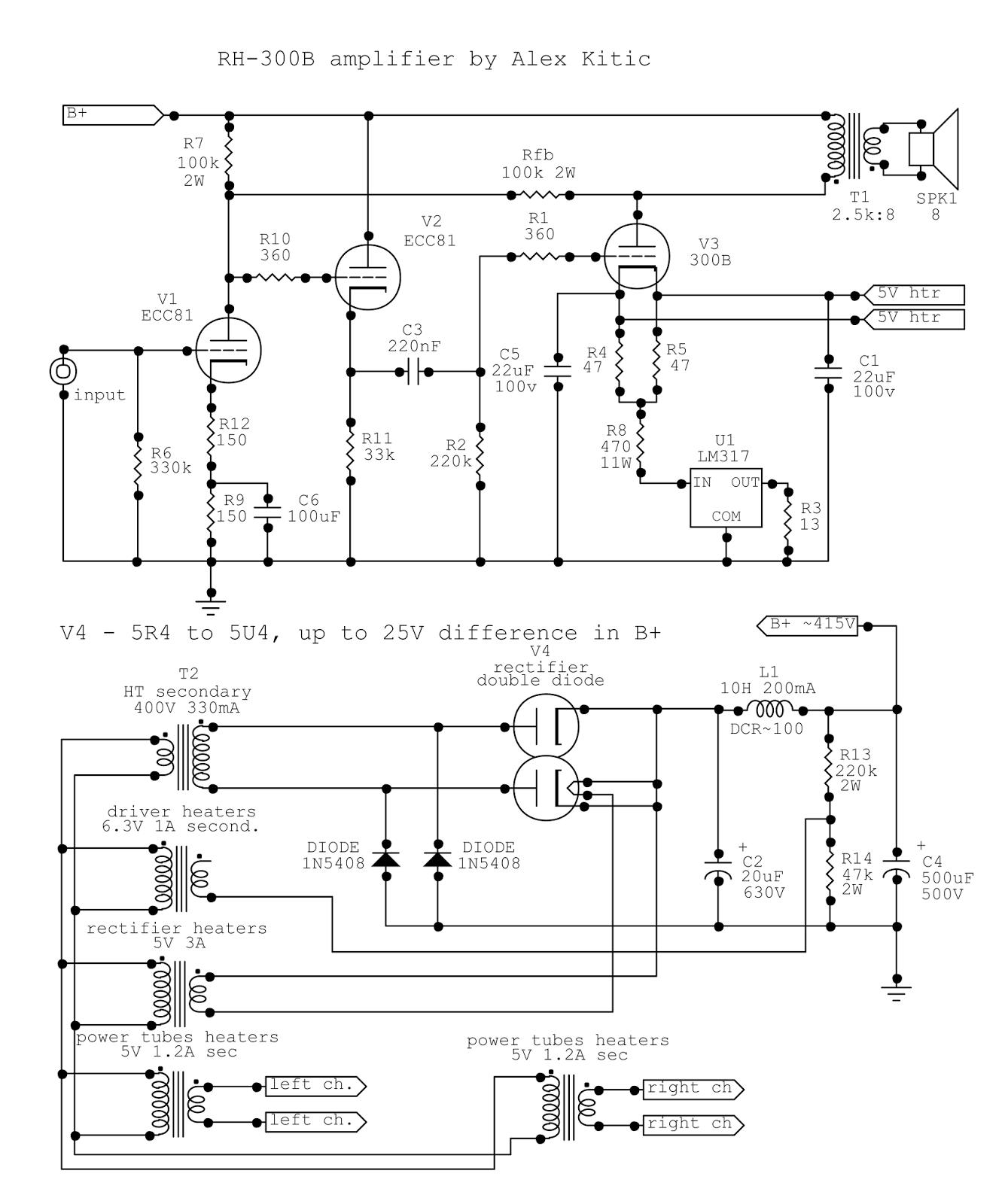 rh amplifiers the rh300b story rh rh amps blogspot com