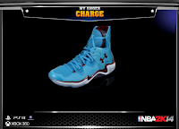NBA 2K14 Under Armour Charge