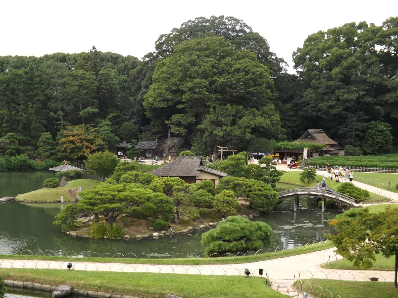 Mundo japon okayama for Jardin korakuen