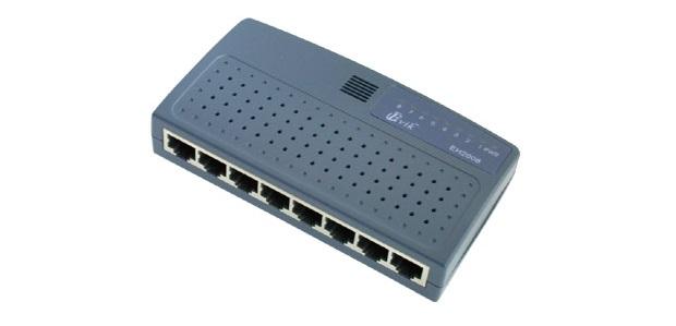 Hub usado para interligar pontos de rede