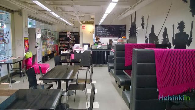 Manga Café in Kaisaniemi