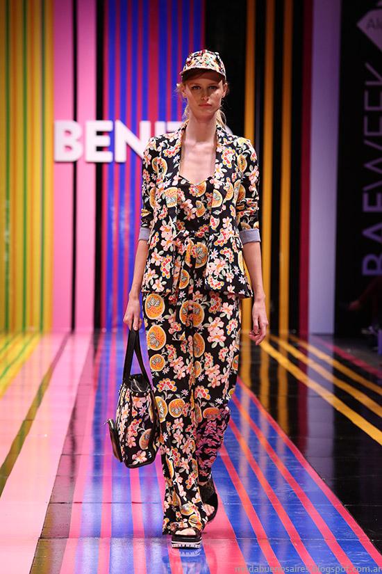 Benito Fernandez primavera verano 2015. Moda primavera verano 2015 Argentina,