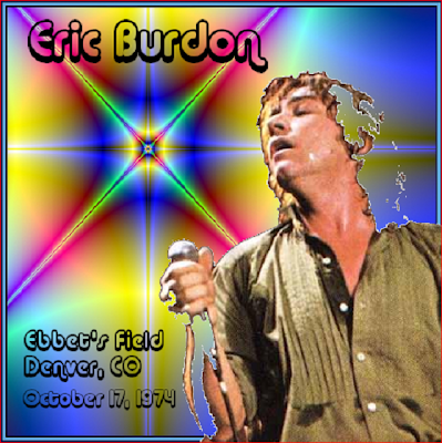 Eric Burdon Band - Ebbert\'s Field - Denver Co - October 17th 1974 (Wave)