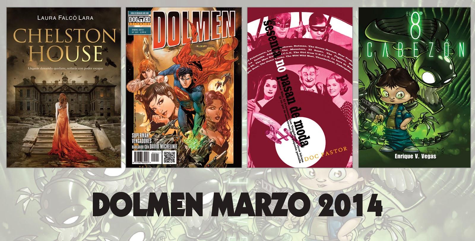Panel Dolmen - Novedades Marzo 2014