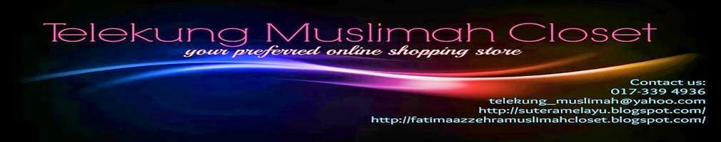 Telekung Muslimah Closet ( 001983279-w )