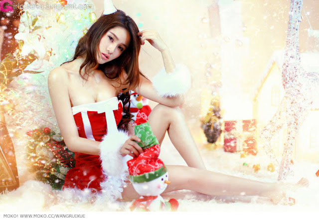 4 Xi Ran - Jingle Bells-very cute asian girl-girlcute4u.blogspot.com