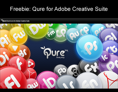 Freebie: Qure for Adobe Creative Suite