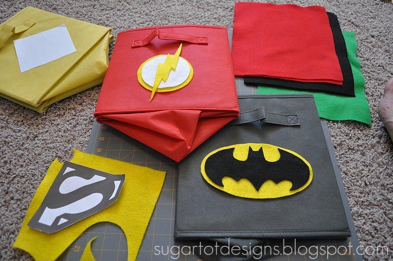 Sugartotdesigns Superhero Bins Tutorial And Printable