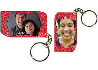 Excitinglives.com : Buy Personalised Size: 5.5 x 3.2 cm Photo Keychain, Normal price of these keychain are Rs. 145 + Rs. 49 shipping.