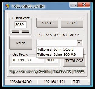 Inject Telkomsel Jabar Jatim 25 Februari 2015