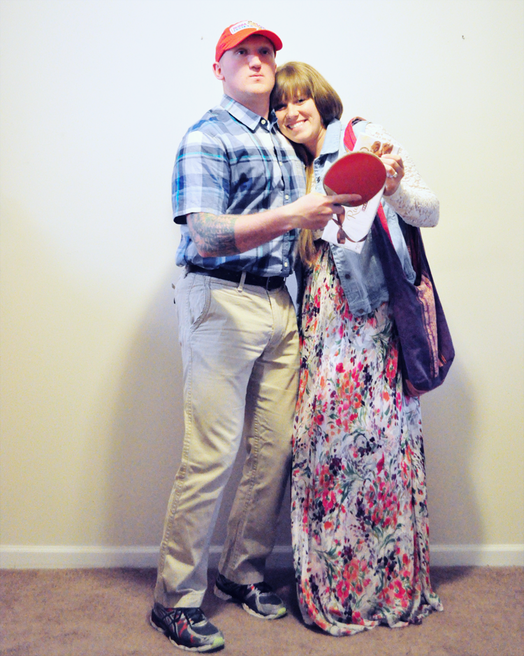 Little Sloth Jenny And Forrest Gump Costume Diy