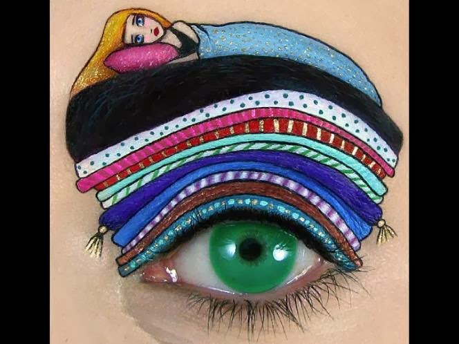 Beauty meets art in these incredible eye make-up designs