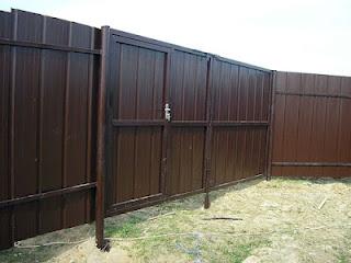 Забор из профлиста. Фото 18