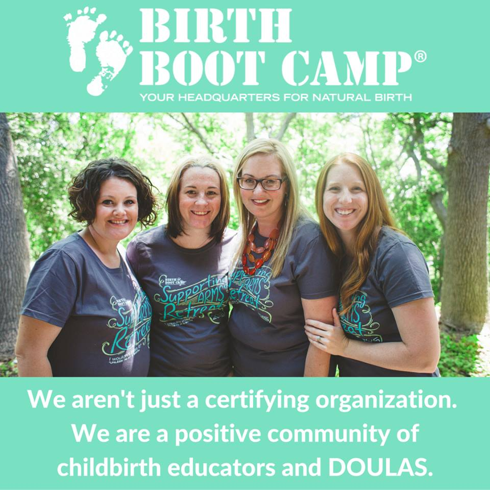 Become a Birth Boot Camp Instructor or DOULA