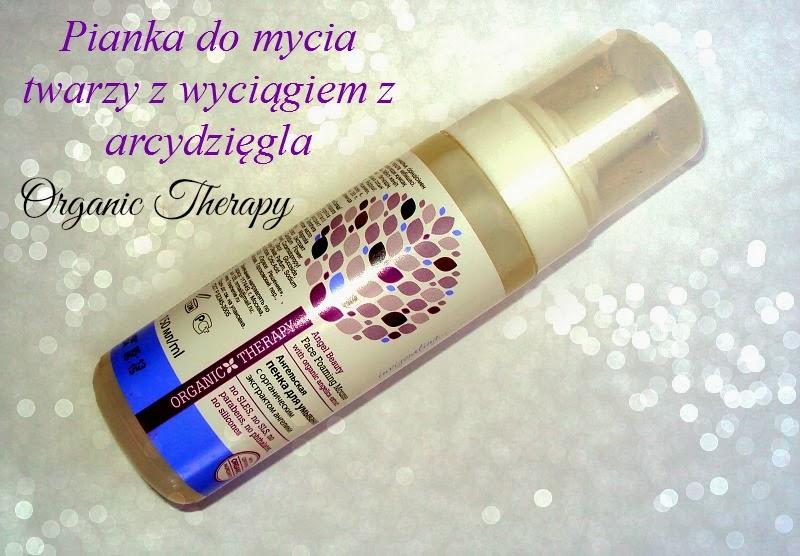 Pervoe Reshenie, Organic Therapy, Pianka do mycia twarzy