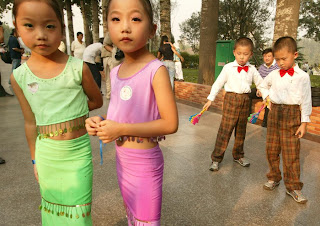 funny picture Chinese children