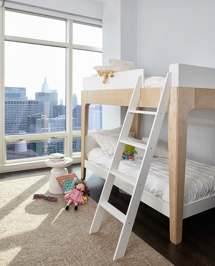 Kid's room in Modern apartment by Tara Benet in New York
