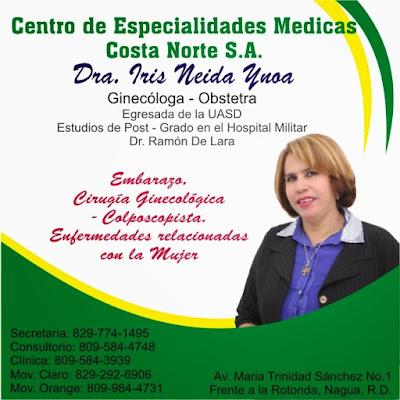 Dra Iris Neida Ynoa