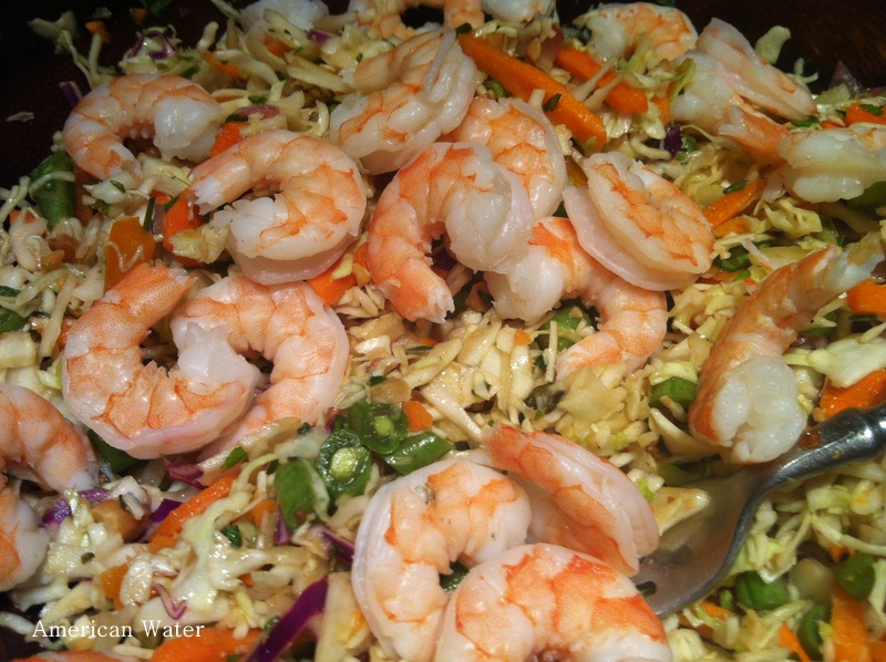 salad napa cabbage picnic salad shrimp salad cabbage cups recipe ...