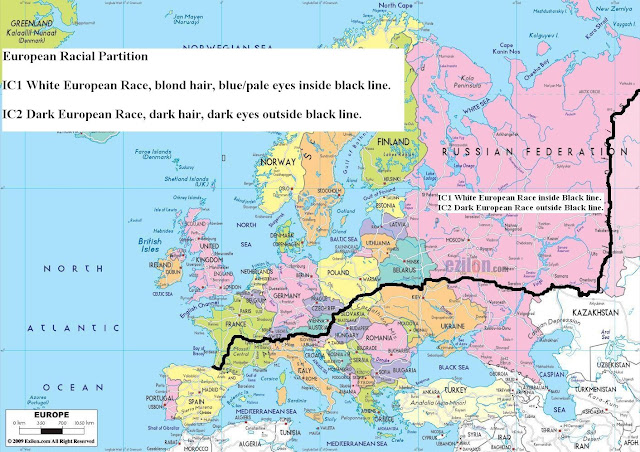 Latest European Racial Partition Map Of Europe Defending The: Latest Map Of Europe At Infoasik.co