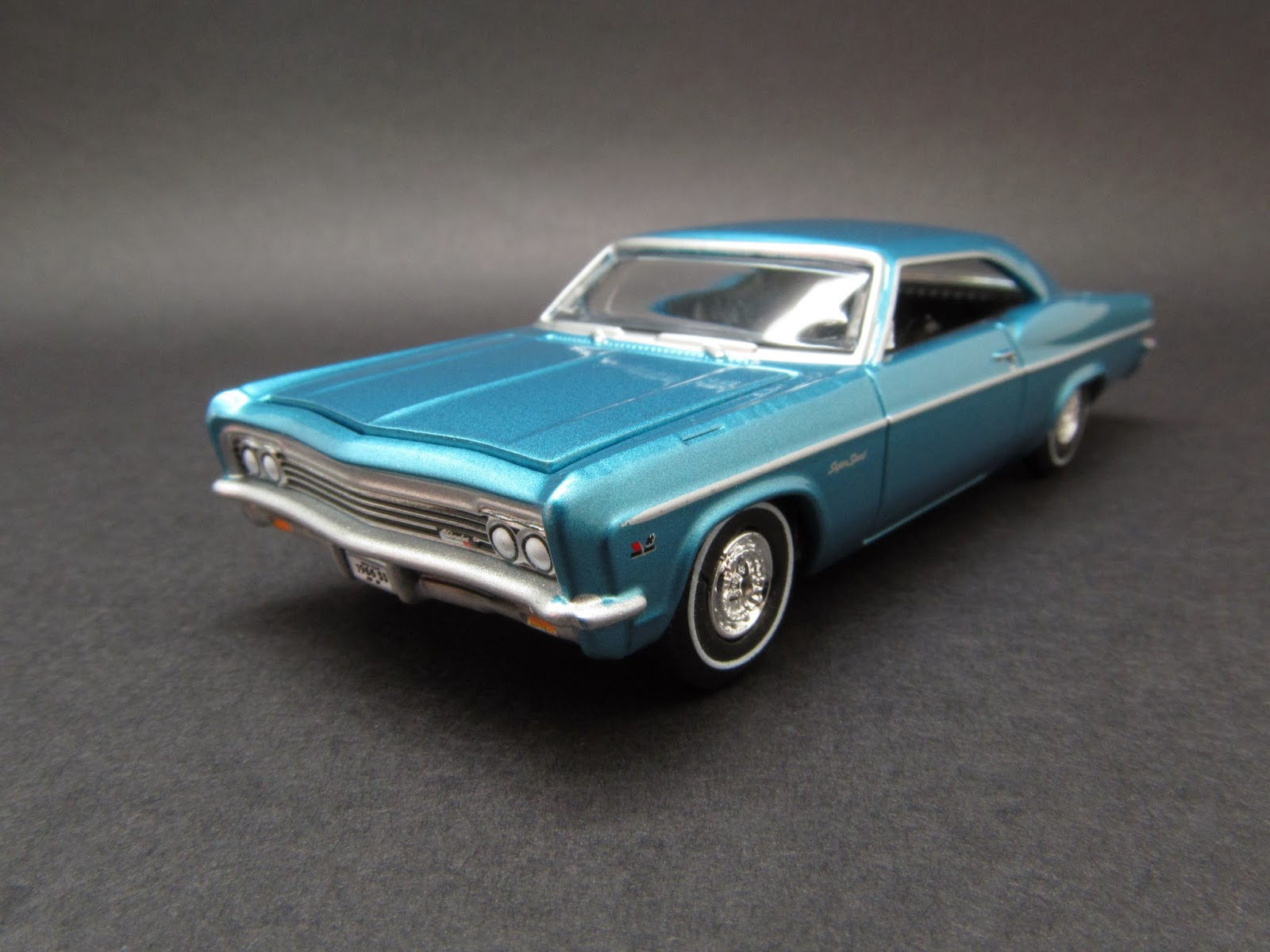 Diecast Hobbist 1966 Chevrolet Impala Ss 164 Scale From Auto World 2013 Vintage Muscle Car Set Detailed Release B