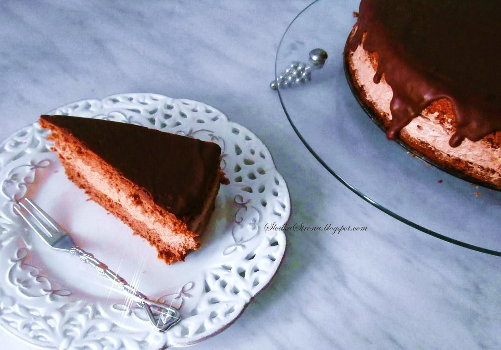 Tort Czekoladowy - Przepis - Słodka Strona