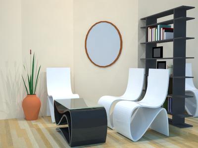 desain dan dekorasi ruang tamu minimalis modern
