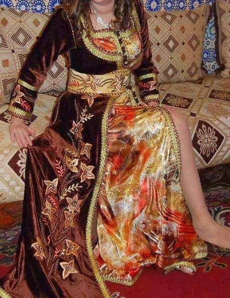 http://www.almaraaworld.com/2013/11/Kaftan-bride-Blaunayn-splendor.html