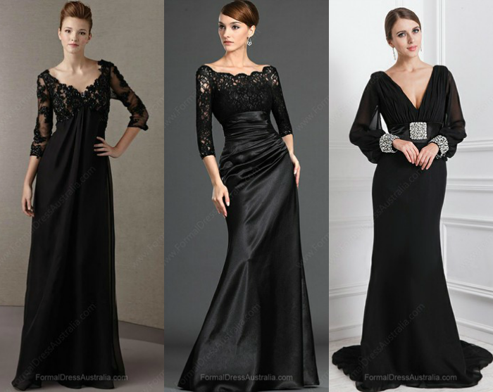 Vestidos Formais Pretos / Black Formal Dresses