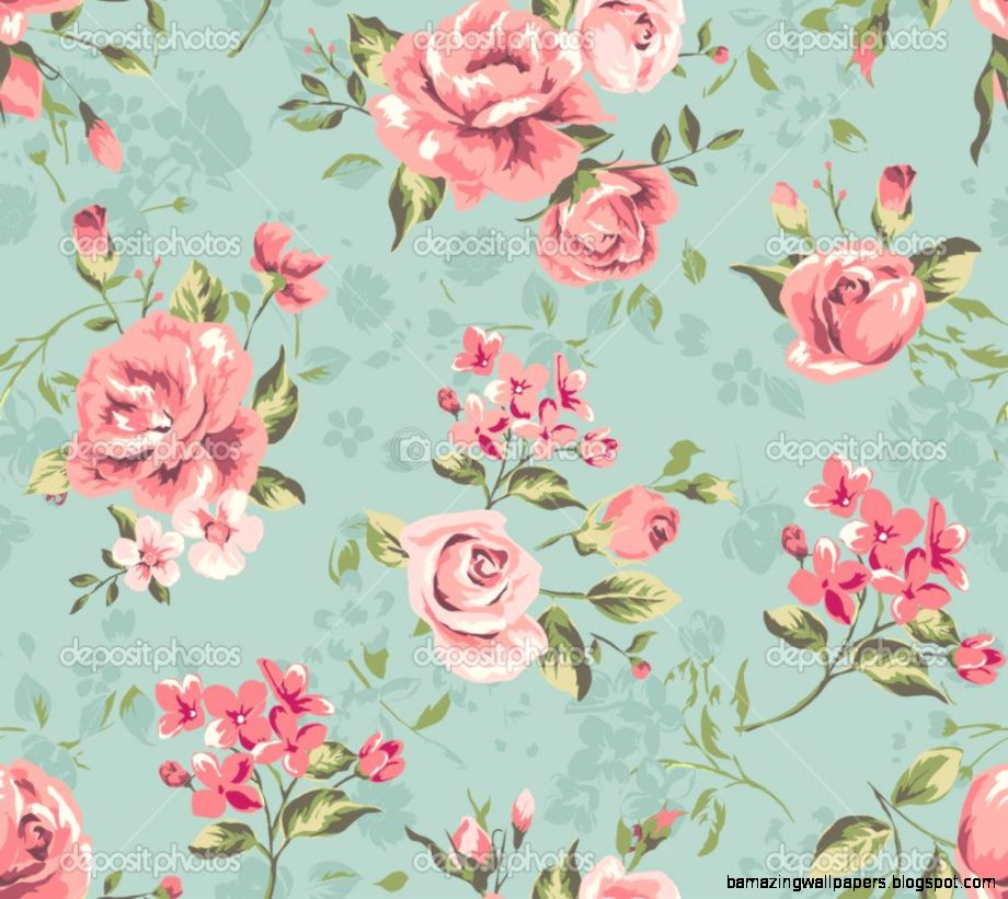 Vintage flowers tumblr amazing wallpapers view original size mightylinksfo