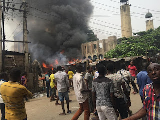 Onitsha Central Mosque set ablaze