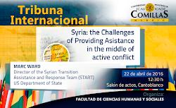 TRIBUNA INTERNACIONAL: Conferencia Mark Ward.  Syrian Transition Assistance and Response team
