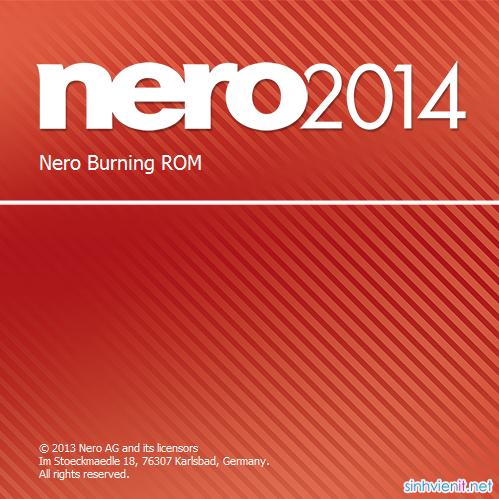Nero Burning ROM 2014 15 Full Crack - Phần mềm ghi đĩa chuyên nghiệp