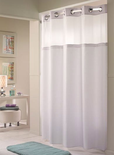 The Daily Tubber Hookless Shower Curtains