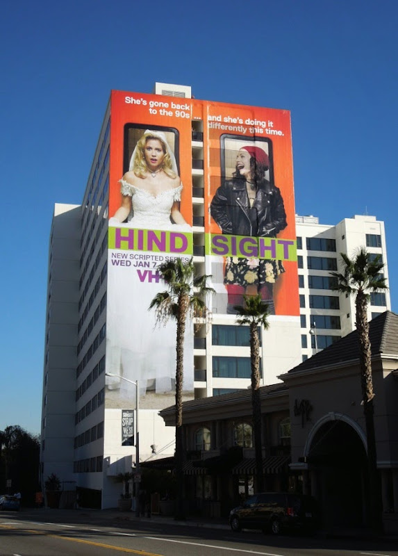 Giant Hindsight series premiere billboard